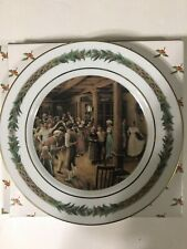 Department 56 Christmas Classic Collector Plate ~ No.V -Happiness He Gives