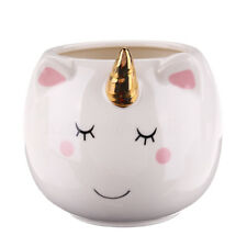 3D Cute Unicorn Ceramic Coffee Mug Water Milk Tea Cup Christmas Gift Smile Face