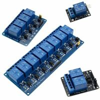 12V Relay Board Module Active Low - 1, 2, 4, 8 Channel