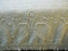 Vtg. George Washington's Choice BATES Chenille Bedspread Queen/Full