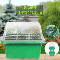 7Types Garden Tray Kit Seed Nursery Pot Germination Box Planting supply Home