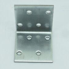 Masterproof Lochplattenwinkel Winkelverbinder Winkel Stuhlwinkel 40 x 40 x 40 mm