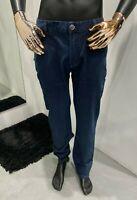STEFANO RICCI Men's Blue Denim Slim Fit Jeans W36 / L34 (100% Authentic & New)