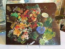 Large Original French Artists Painters Palette