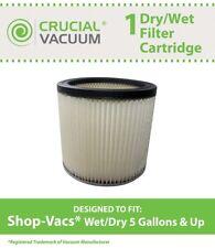 Replacement ShopVac Dry/Wet Cartridge Filter Part # 90304