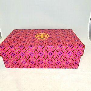 New Tory Burch Miller Empty Shoe Box Gift White Tissue Storage