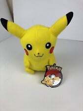 "10"" Official Licensed Pokemon Pikachu Plush Stuffed Doll Toy Gift Kids Authentic"