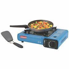 Portable Butane Outdoor Camp Hike Single Burner Control Stove Cook Carry Case