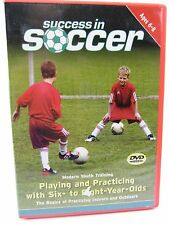 DVD Success in Soccer Ages 6 to 8 Playing & Practicing basics for indoor outdoor
