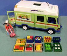 (K141) playmobil fourgon épicerie ref 3204 3200 3201