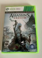 Assassin's Creed III Xbox 360 Game - Complete - 2 disc
