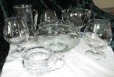 Konvolut - Glaswaren - 15 Teile - Gläser - Teller - Schale
