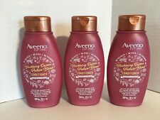Aveeno Lot x 3 Blackberry Quinoa Protein Blend Conditioner 12 oz. No Sulfate NEW