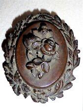 Superb Antique Bakelite Floral Brooch