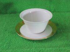 Rosenthal Ascot Gravy With Attached Under Plate  #4001