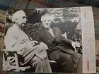 1951 ALBERT EINSTEIN PRINCETON PHOTO ISRAEL DAVID BEN-GURION PHYSICIST SCIENTIST