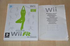 lot Wii Fit Plus Balance Board : le jeu + notice - Pas de balance