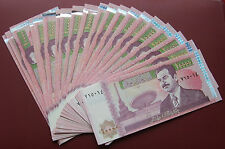 IRAQ BANKNOTES SADDAM HUSAIN 10000 DINARA UNC- DEALERS LOT 25 PCS NOTES
