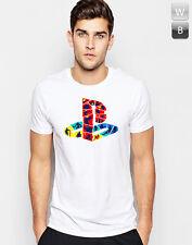 Playstation Rétro T-shirt PS Logo Game Controller Cadeau graphique PSP Unisexe Tee T
