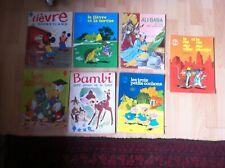 Lot de 7 livres grands format Editions Odège...années 60 et 70