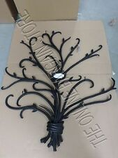 Pottery Barn Bouquet Picture Photo Family Tree Display Art Frame Holder Metal XL