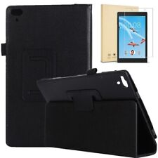 Slim Cover Case for Lenovo TAB 4 8 Tablet 2017 and FREE Glass Screen Protector