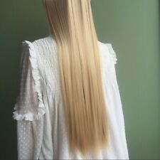 """20"""" Clip In like human Hair Extensions 3/4 Full Head One Piece Dark Ash Blonde"""