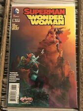 SUPERMAN WONDER WOMAN #16 FRANCIS MANAPUL HARLEY QUINN VARIANT COVER new 52 2015