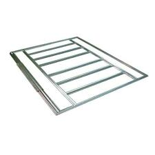10 x 6 ft Galvanized Steel Floor Frame Kit for Arrow Storage Sheds Constructions