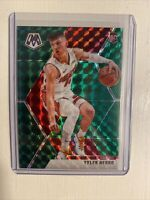 Tyler Herro 2019-20 Panini Mosaic Green Prizm #223 Miami Heat Rookie Card RC