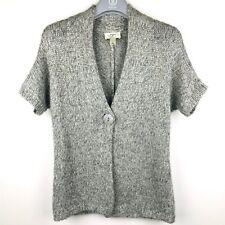 Loft Ann Taylor Women S Cardigan Jacket Sweater Cable Knit Short Sleeve