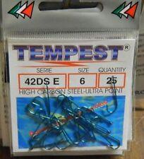 1 Confezione 25 AMI TEMPEST serie 42 DS E n 6 pesca BB23