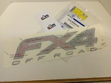 Ford F-150 F-250 F-350  RH or LH Red / Black Fx4 Off Road Bedside DECAL new OEM