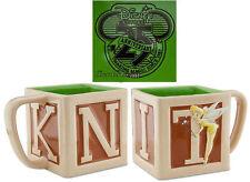 NEW Disney Store 25th Anniversary Tinker Bell Tinkerbell BLOCK Tea Coffee Mug