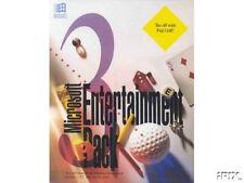 Microsoft Entertainment Pack 3 Fuji Life Genesis Ski Free Klotski PC new CD