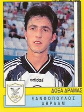 N°093 PLAYER DOXA DRAMA GREECE HELLAS PANINI GREEK LEAGUE FOOT 95 STICKER 1995