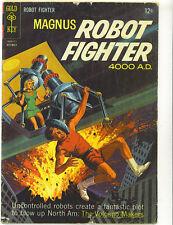 Magnus Robot Fighter #12 1965 Silver Age  Gold Key Comics Russ Manning