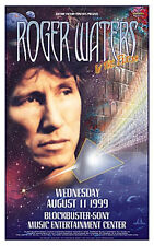 ROGER WATERS PINK FLOYD RARE CONCERT POSTER 1999