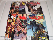 DC Comics The New 52 The Savage Hawkman #1-4, 6,8,9 (2011-13)  Autograph