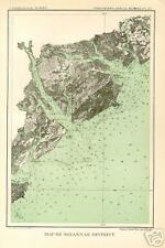 1893 color map Georgia Savannah Hilton Head