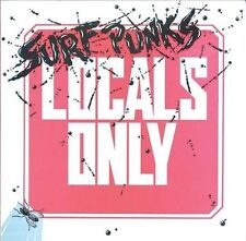 SURF PUNKS - LOCALS ONLY (CD, Original RARE PUNK 1982 Release, Restless)