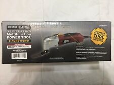 Chicago Electric Power Tools Oscillating Multifunction Power Tool NO Accessories