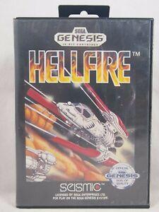 Hellfire Case (SEGA Genesis) Authentic BOX ONLY!
