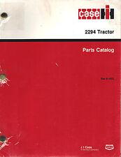 Case/Ih 2294 Tractor Parts Manual Rac 8-1952