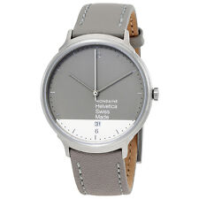 Mondaine 38 mm Stainless steel brushed Watch MH1.L2280.LH