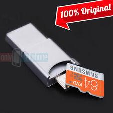NEW OEM Samsung 64GB Memory Card 3in1 UHS-I Micro SDHC Metal OTG USB Flash Drive