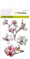 Craft Emotions Clear Stamps - Magnolia - 1249 - Flowers - Spring - Cardmaking