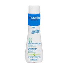 Mustela Bébé® Multi-sensory Bubble Bath 200ml foam tear-free gently cleanses