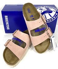 Birkenstock Arizona BS Women's Size 7(EU38)N/Sftbd Lt Rose Suede Sandals S1-74