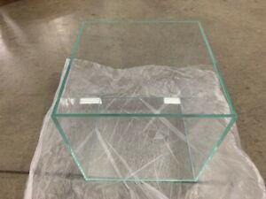 30CM ULTRA CLEAR GLASS FISH TANK - 25L